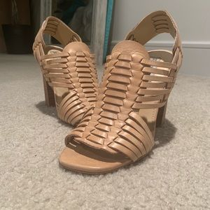 STEVE MADDEN 7.5 block heel never worn